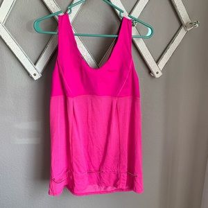 Lululemon Athletica Women's 10 Workout Tank Top